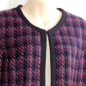 CROFT & BARROW Tweed Blazer w/Pockets  RN